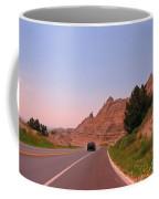 Through The Badlands Of South Dakota Coffee Mug