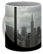 Through The Dirty Window Coffee Mug