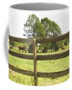 Through The Fence Coffee Mug