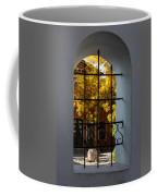 Through The Fence Window Coffee Mug