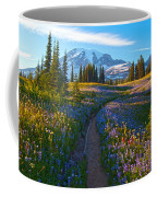 Through The Golden Meadows Coffee Mug