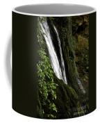 Through The Middle  Coffee Mug