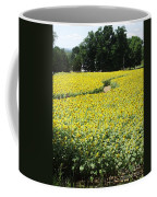 Through The Sunflowers Coffee Mug