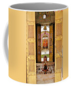 Through The Temple Doors India Coffee Mug