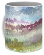 Through The Trees Coffee Mug by Linda Woods