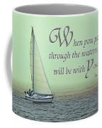 Through The Waters Coffee Mug
