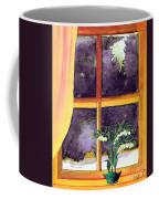 Through The Window Coffee Mug by Patricia Griffin Brett