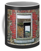 Through Windows At Charles Fort, Ireland Coffee Mug