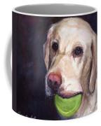 Throw The Ball Coffee Mug by Molly Poole
