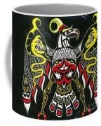 Thunderbird Coffee Mug by Margaryta Yermolayeva