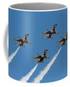 Thunderbirds Diamond Flyover Coffee Mug