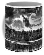 Thunderclouds Over Cary Lake Coffee Mug by David Patterson