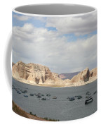 Thunderstorm Atmosphere Over Lake Powell Coffee Mug
