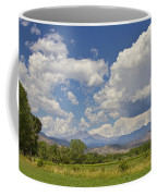 Thunderstorm Clouds Boiling Over The Colorado Rocky Mountains Coffee Mug