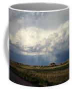Thunderstorm On The Plains Coffee Mug