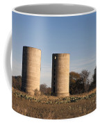 Thurber Dairy Silos Texas Coffee Mug