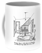 Thursday, August 2, 1990, Early In The Morning Coffee Mug