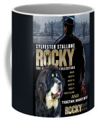 Tibetan Mastiff Art Canvas Print - Rocky Movie Poster Coffee Mug