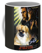 Tibetan Spaniel Art - Blade Runner Movie Poster Coffee Mug