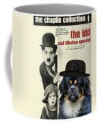 Tibetan Spaniel Art - The Kid Coffee Mug