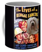 Tibetan Terrier Art - The Lives Of A Bengal Lancer Movie Poster Coffee Mug