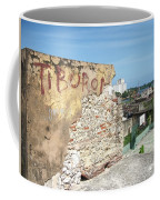 Tiburon And Basketball Court At The Top Of The Fort Wall Coffee Mug