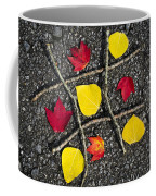 Tic-tac-toe Coffee Mug by Christina Rollo