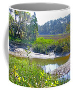 Tidal Creek In The Savannah Coffee Mug