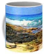 Tide Pools At Magic Sands Coffee Mug