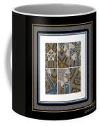 Tied To My Concrete Garden - Kaleidoscope - Hexaptych Coffee Mug