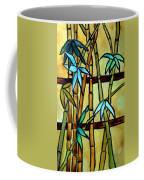 Stained Glass Tiffany Bamboo Panel Coffee Mug