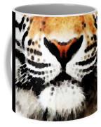 Tiger Art - Burning Bright Coffee Mug
