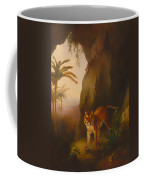 Tiger In A Cave Coffee Mug
