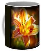 Tiger Lily Flower Coffee Mug