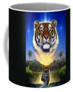 Tiger Of The Lake Coffee Mug