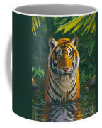 Tiger Pool Coffee Mug
