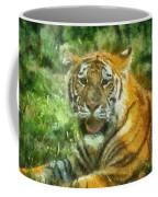 Tiger Resting Photo Art 05 Coffee Mug