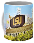 Tiger Stadium - Bw Coffee Mug