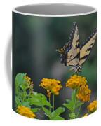 Tiger Swallowtail And Lantana Coffee Mug