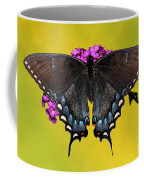 Tiger Swallowtail Butterfly, Dark Phase Coffee Mug