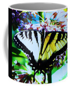 Tiger Swallowtail Butterfly  Coffee Mug