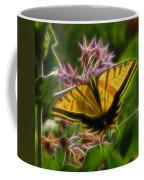 Tiger Swallowtail Digital Art Coffee Mug