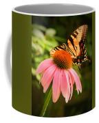 Tiger Swallowtail Feeding Coffee Mug