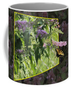 Tiger Swallowtail Oob-featured In Beautycaptured-oof-harmony And Happiness Coffee Mug