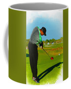 Tiger Woods  - Second Round Of The Honda Classic Coffee Mug