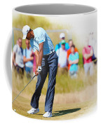 Tiger Woods - The British Open Golf Championship Coffee Mug