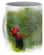Tiger Woods - The Chevron World Challenge Coffee Mug