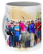 Tiger Woods - The Waste Management Phoenix Open At Tpc Scottsdal Coffee Mug