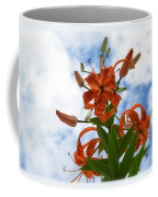 Tigers In The Clouds 8567 Coffee Mug