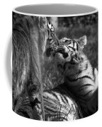 Tigers Kissing Coffee Mug